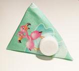 Kaugummi Täschchen Dreieck Flamingo
