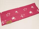 "Kinder Stirnband ""Sterne"" pink-weiss"