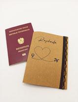 Namens-Personalisierte Reisepass Hülle