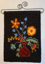 Wild Flower Wool Appliqué kit