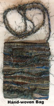 Hand-woven Mixed Media Bag #3