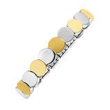 Bracelet flexi disque plat [2675]