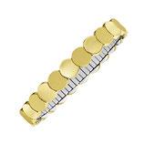 Bracelet flexi disque plat [2770]