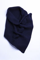 HAPPY NECK - navy blue -