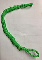 elastische Neckline grün