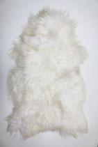 Peau de mouton islandaise naturelle blanche