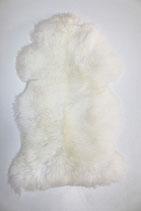 Peau de mouton mérinos naturelle blanche