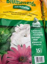 Blumenerde mit Naturton 15 l