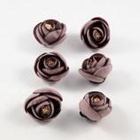Stoffblume hochwertigste Handarbeit 6 Stück-Set