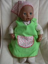 Puppenkleid mit Kopftuch