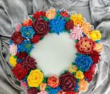 Buttercreme Blumen auf Torte