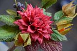 Dahlie, Physialis und Episcia - Blütenpaste Kurs