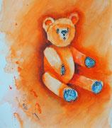 Teddy in orange
