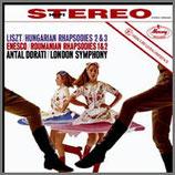 リスト:ハンガリー狂詩曲第2番 ニ短調  他 33rpm 180g LP