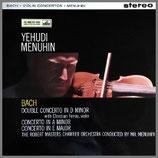 J.S.バッハ:2つのヴァイオリンの為の協奏曲 ニ短調 他 33rpm LP