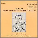 ラロ:スペイン交響曲 二短調 33rpm 200g LP