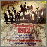 チャイコフスキー:序曲《1812年》他 33rpm 180g LP
