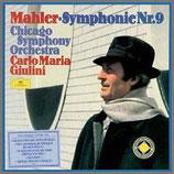 マーラー:交響曲 第 9番 ニ長調 33rpm 180g 2LP