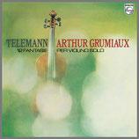 テレマン:無伴奏Vnの為の12のファンタジー 33rpm 180g LP