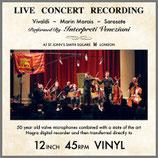 ライヴ・コンサート・レコーディング 45rpm 180g LP