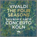 ヴィバルディ:合奏協奏曲集《四季》 33rpm LP