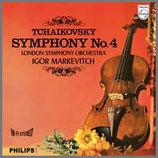チャイコフスキー:交響曲 第4番 ヘ短調 33rpm 180g LP
