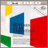 ムソルグスキー:展覧会の絵 オーケストラ + ピアノ 33rpm 180g 2LP