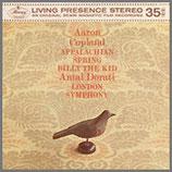 コープランド:バレエ音楽《アパラチアの春》 他 33rpm 180g LP