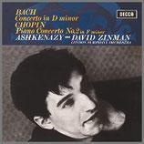 ショパン & J.S.バッハ:ピアノ協奏曲 33rpm 180g LP