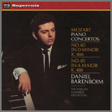 モーツァルト:ピアノ協奏曲第20番・23番 33rpm 180g LP
