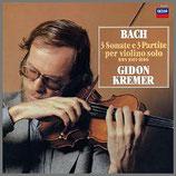 J.S.バッハ:無伴奏ヴァイオリン・ソナタとパルティータ 全曲    33rpm 180g 3LP Box