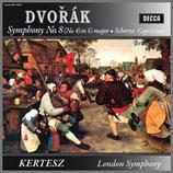 ドヴォルザーク:交響曲第8番 ト長調 33rpm 180g LP
