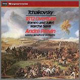 チャイコフスキー: 序曲 1812年 他 33rpm 180g LP