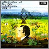 マーラー:交響曲第3番 ニ短調 33rpm 180g 2LP