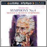 チャイコフスキー:交響曲第4番 ヘ短調 33rpm 200g LP