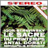 ストラビンスキー:バレエ音楽 《春の祭典》33rpm 180g LP