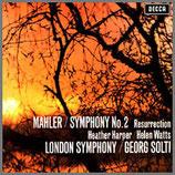 マーラー:交響曲第2番 ハ短調 《復活》 33rpm 180g 2LP