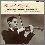 ブラームス:ヴァイオリン協奏曲 二長調 33rpm LP