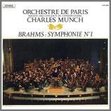 ブラームス:交響曲第1番 ハ短調 33rpm LP