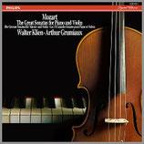 モーツァルト:ピアノとヴァイオリンの為のソナタ 33rpm 180g 5LP