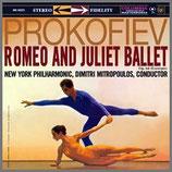 プロコフィエフ: 演奏会用組曲《ロミオとジュリエット》 33rpm  LP