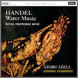 ヘンデル:組曲 《水上の音楽》 他 33rpm 180g LP