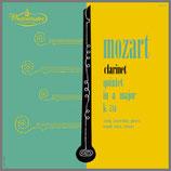 モーツァルト:クラリネット五重奏曲 イ長調 33rpm  LP