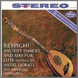 レスピーギ:リュートのための古代舞曲とアリア 33rpm 180g LP