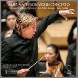 ジェイムズ・マセソン:ヴァイオリン協奏曲 45rpm LP