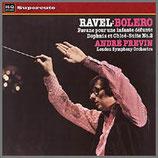 ラヴェル: ボレロ / ダフニスとクロエ 第2組曲 33rpm 180g LP