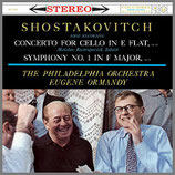 ショスタコーヴィチ:チェロ協奏曲第1番 他 33rpm 180g LP