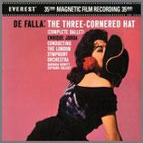 ファリャ:バレエ音楽《三角帽子》全曲 45rpm 200g 2LP