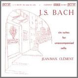 J.S.バッハ:無伴奏チェロ組曲 全曲 33rpm 180g 2LP