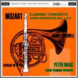 モーツァルト:クラリネット・ホルン協奏曲第 1〜3番 33rpm LP